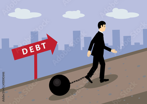Fotografía  Debt Path