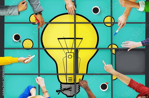 Fotografía  Ideas Puzzle Problem Solving Inspiration Creativity Concept