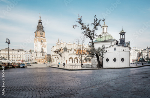 Market square in Cracow