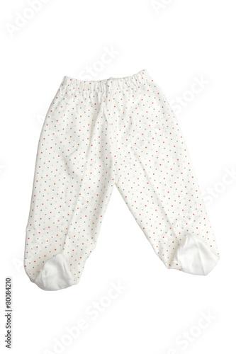 Foto op Plexiglas Dragen children's wear on the white background