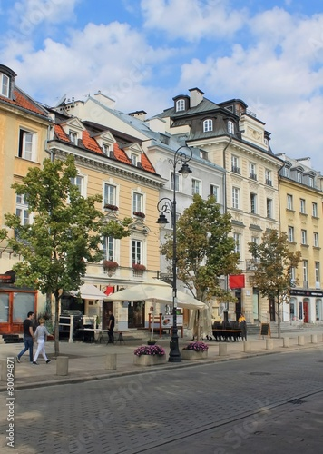 streets of Warsaw - 80094871