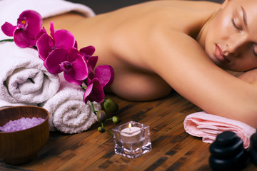 Fototapetarelaxing spa treatments