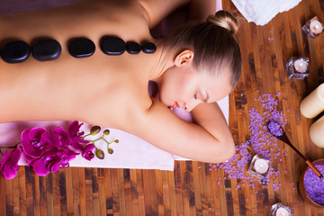 Fototapeta relaxing spa treatments