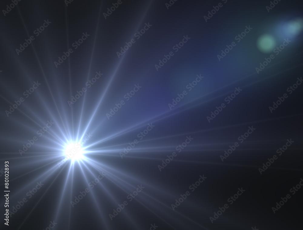 Fototapeta Stella luce astro spazio sole illuminare