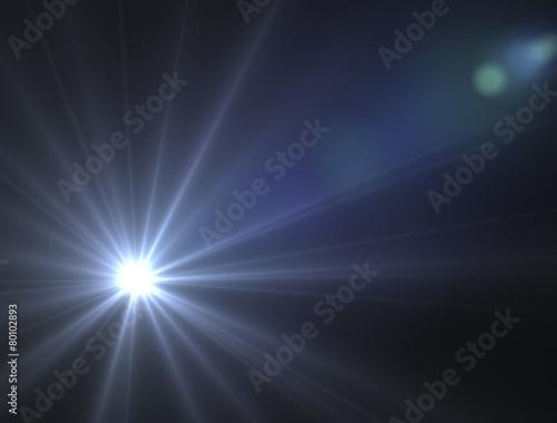 Obraz Stella luce astro spazio sole illuminare - fototapety do salonu