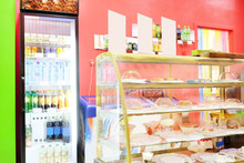 Commercial Refrigerator To Store Drinks And Tasty Desserts