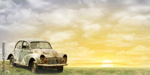 Old Car © Binkski