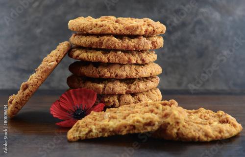 Australian Anzac biscuits Canvas Print