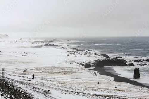 Papiers peints Arctique Islanda: costa sud