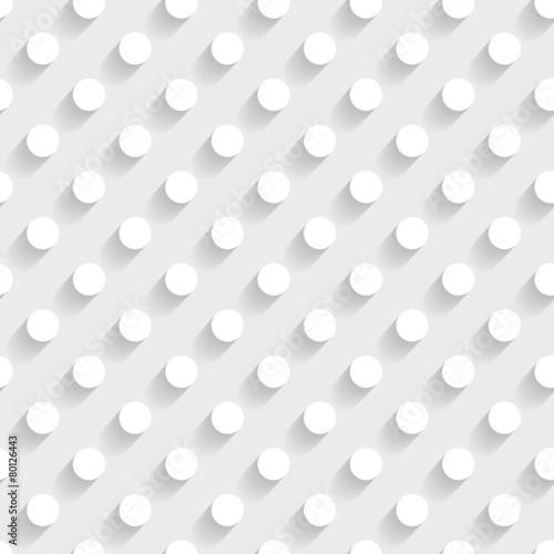 bialy-wzor-3d-z-kropkami