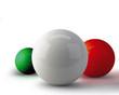 tricolore astratto