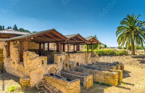 Fotografie, Obraz  Villa romaine du Casale,Piazza Armerina,Sicile.