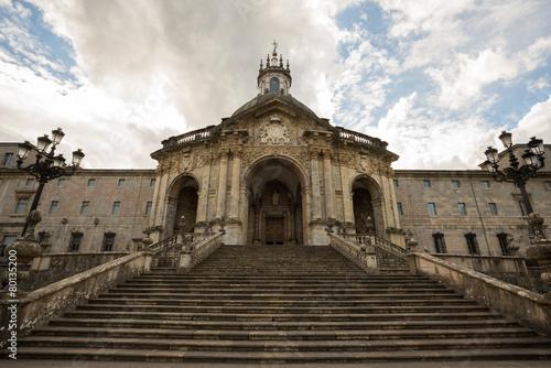 Fotografie, Obraz  Escalinata del Santuario de Loyola