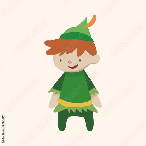 Photo  Peter Pan theme elements