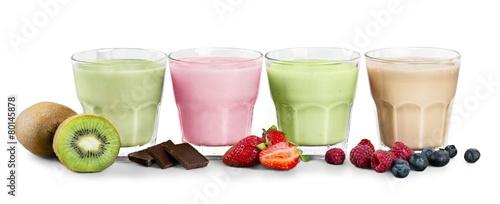 In de dag Milkshake Smoothie. smoothie