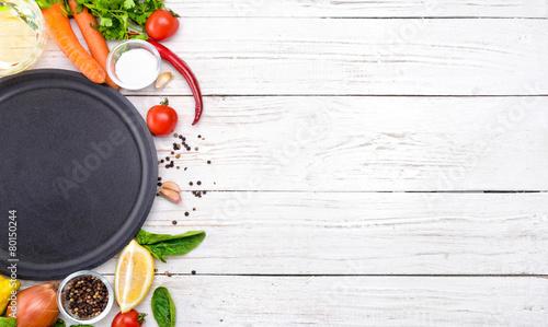 Montage in der Fensternische Kochen Concept of cooking.