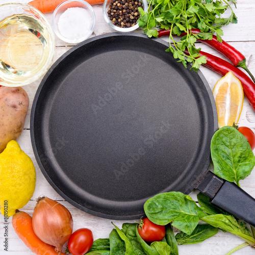 Türaufkleber Kochen Concept of cooking.