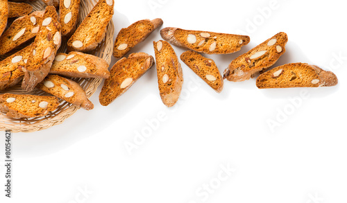 Biscotti with nuts Fototapeta
