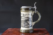 canvas print picture - Tradition German beer mug