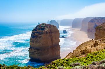 Dvanaest apostola Great Ocean Roadom u Victoriji u Australiji