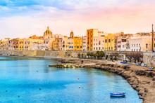 Trapani Panoramic View, Sicily...