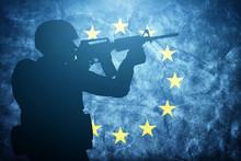 Soldier On Grunge European Uni...