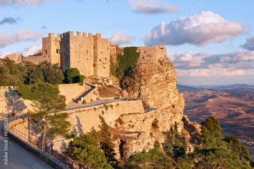 Foto op Plexiglas Kasteel Venere castle, Erice, Sicily