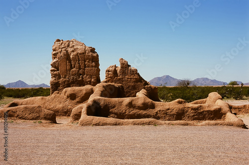 Fotografie, Obraz  Casa Grande Ruins