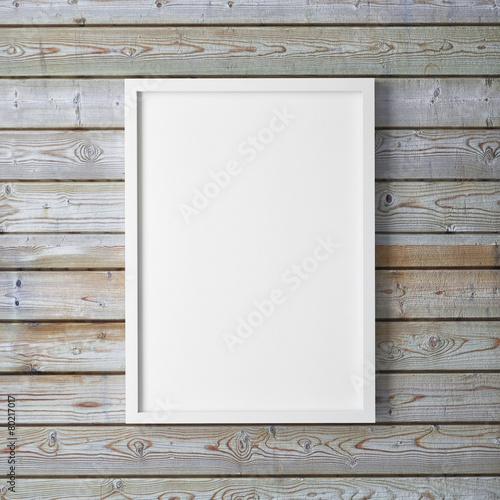 mock up poster, 3d illustration