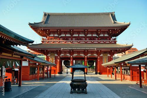 Poster Tokyo Tokyo temple