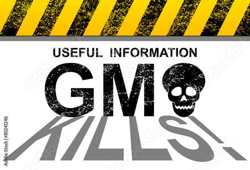 Fotografie, Obraz  GMO kills