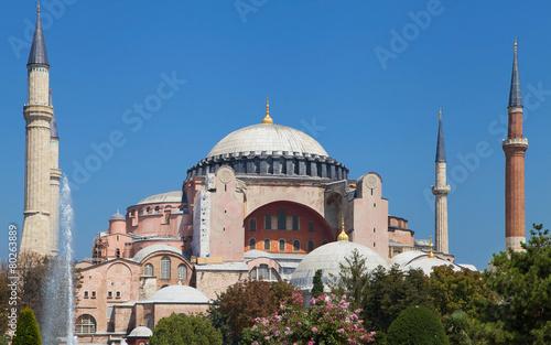 Basilica of Hagia Sophia Fototapeta