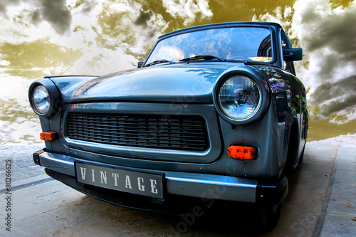 Vintage Car Slika na platnu