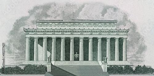 Fotografia  Lincoln Memorial in Washington DC
