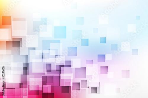 Fotografía  kwadraty tło wektor