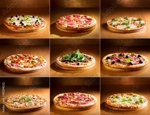 Photo  pizza collage