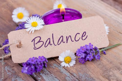 Foto  Balance