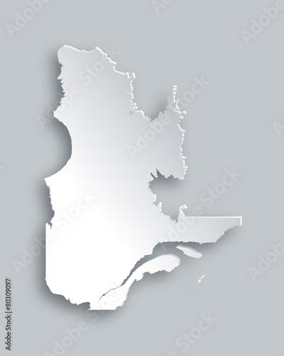 Quebec Karte.Karte Von Quebec Buy This Stock Vector And Explore Similar Vectors