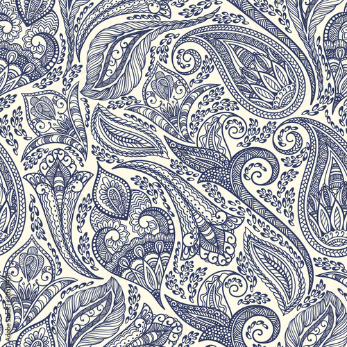 Fotografie, Obraz Paisley pattern
