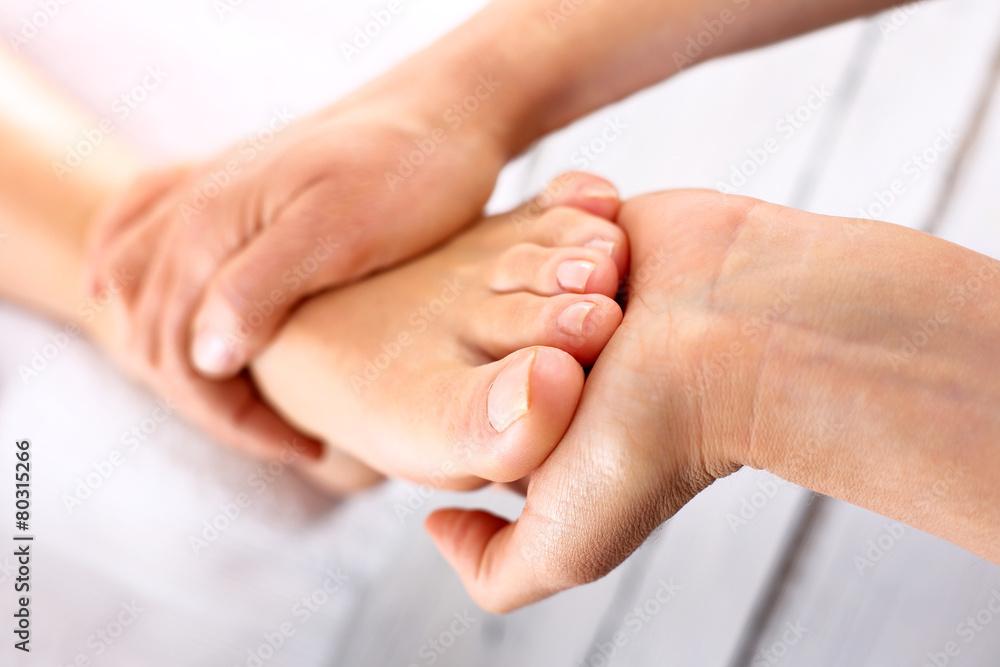 Fototapeta Rehabilitacja stopy