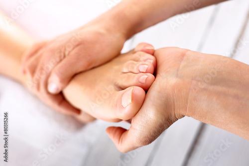 Poster Pedicure Rehabilitacja stopy