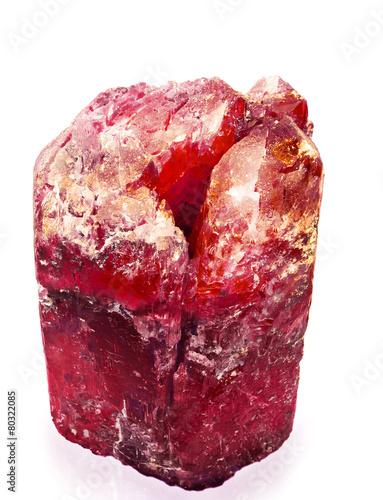 Fotografía  red crystal
