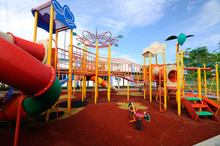 Children Outdoor Playground In Selangor, Malaysia