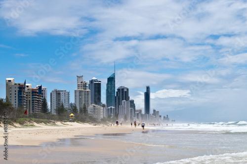 Valokuva  Gold Coast beach