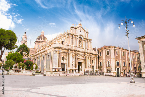 Fotografia Piazza del Duomo in Catania , Sicily