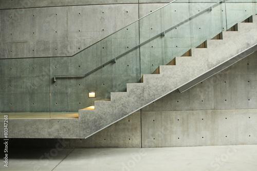 Treppe aus Beton Wallpaper Mural