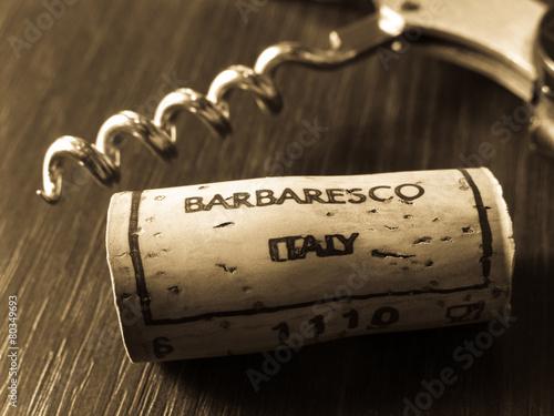 Barbaresco wine Canvas Print