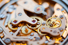 Complex Watch Parts Of Vintage Watch