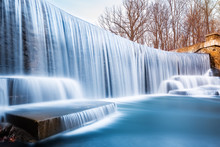 Seeley's Pond Waterfall, In New Jersey.