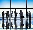 Diverse Business People Handshake Office Concept